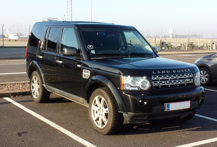 Danish Police Land Rover Discovery