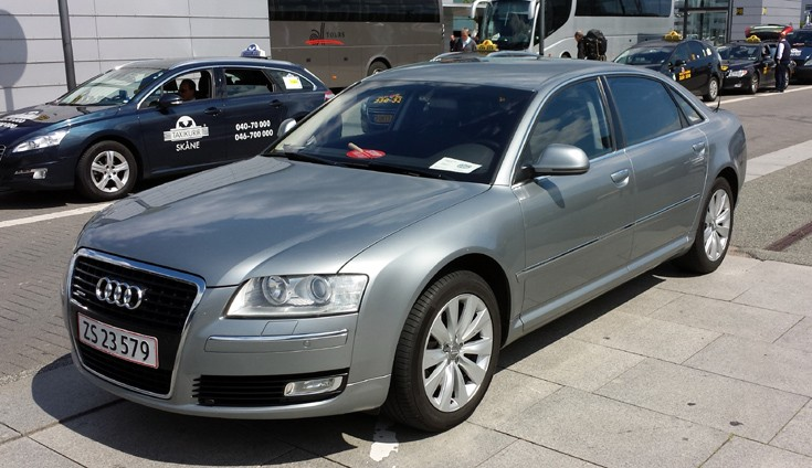 Danish Police Audi A8 unmarked