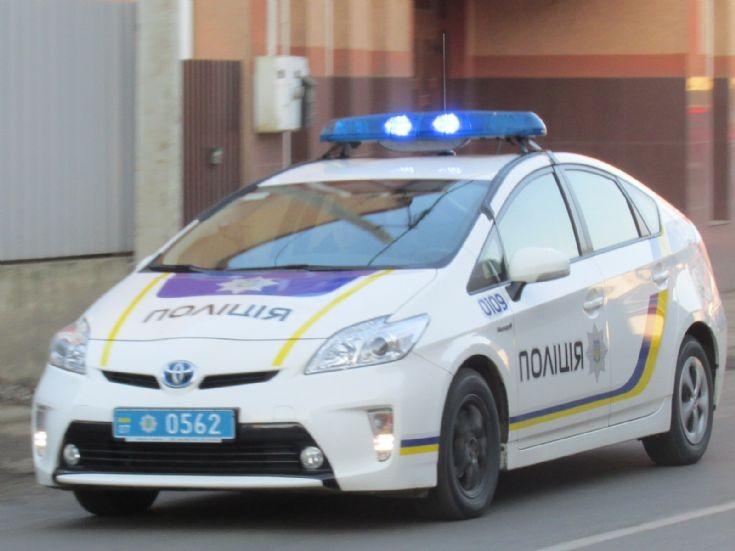 Toyota Prius National Police of Ukraine
