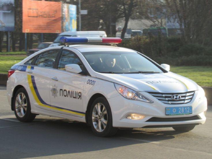Hyundai Sonata National Police of Ukraine
