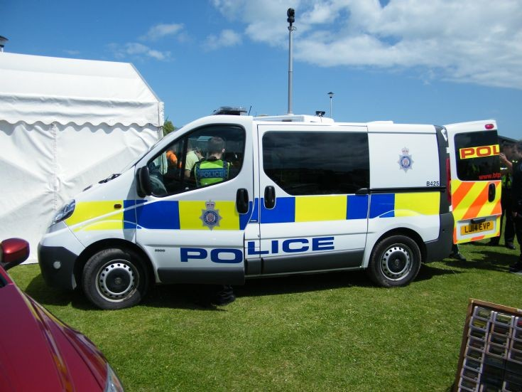 British Transport Police Vauxhall Van