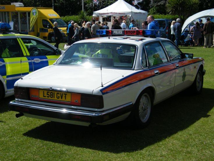 Jaguar Traffic car
