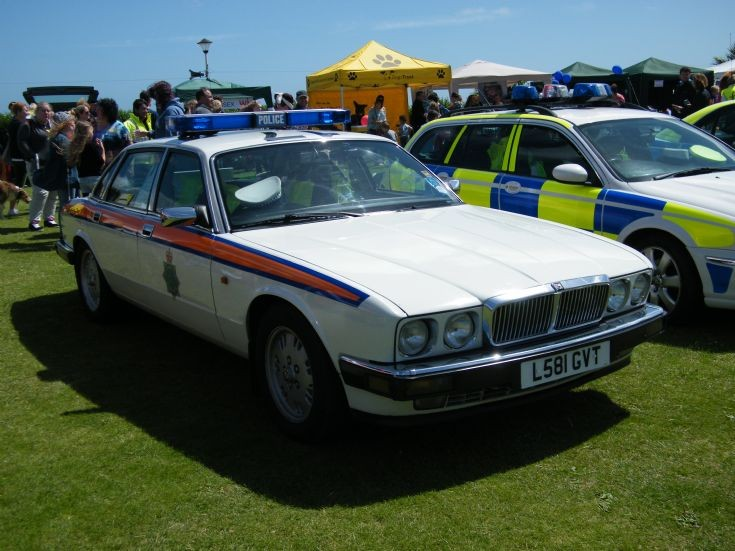 Jaguar Traffic Police Car