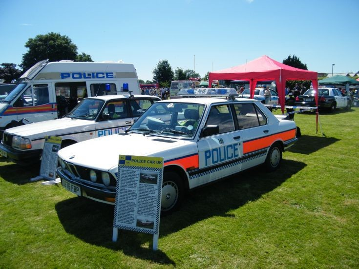 Hampshire BMW Traffic Car