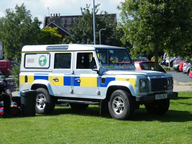 Ex police Land rover