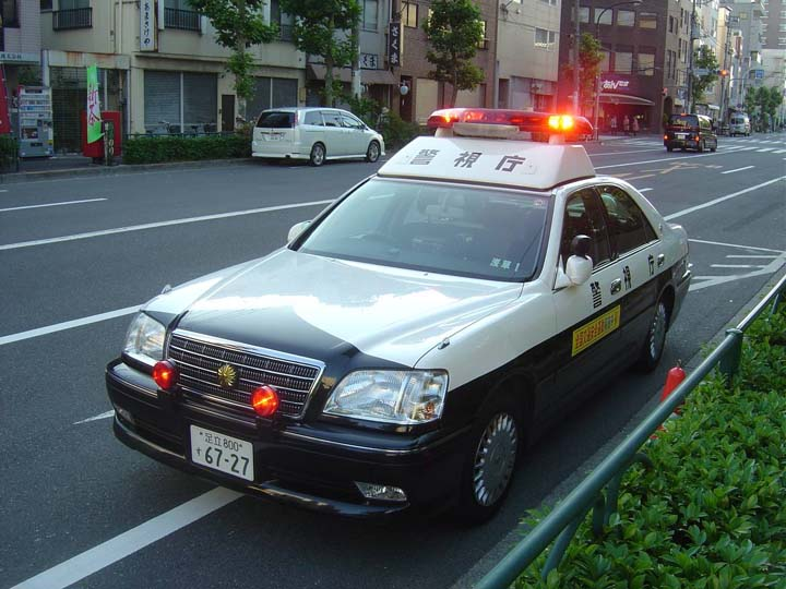 Tokyo Police Department Toyota Crown