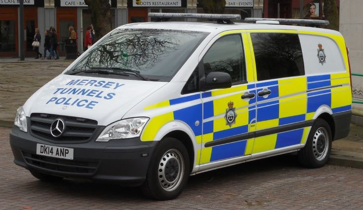 Mersey Tunnels Police (DK14 ANP)