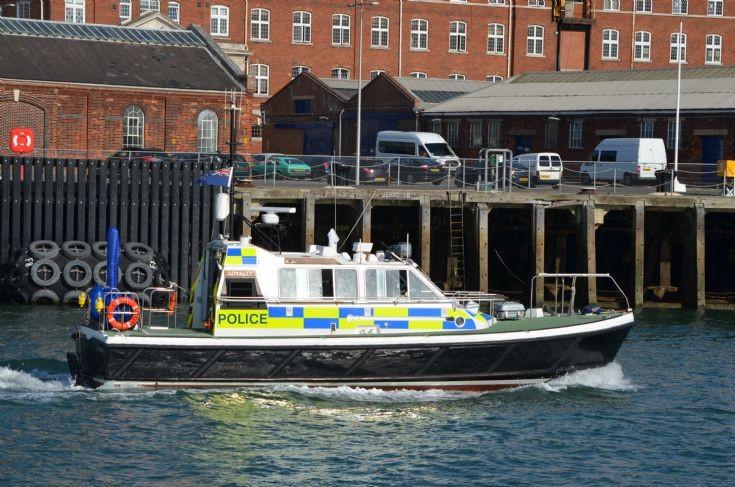 MoD Police patrol boat Portsmouth