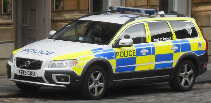 Northumbria Police (AE13 CKU)