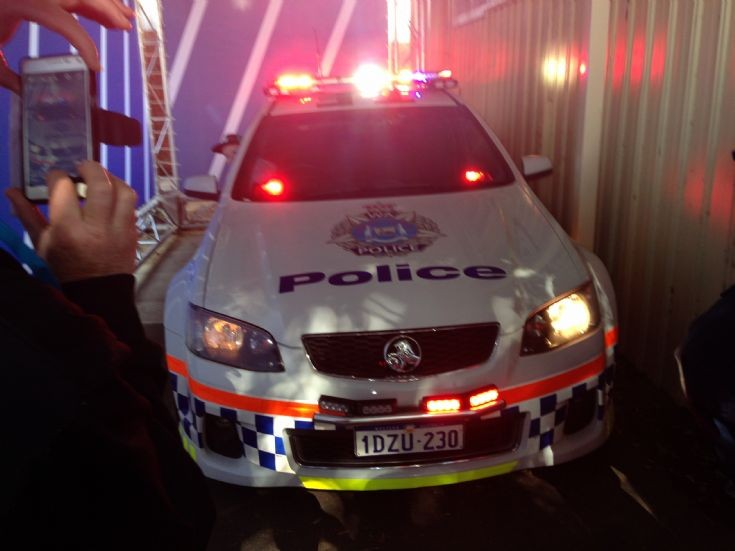 Holden Commodore Cop Car