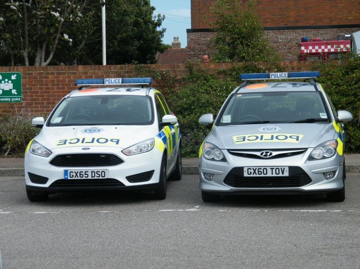 Sussex Police Ford and Hyundai
