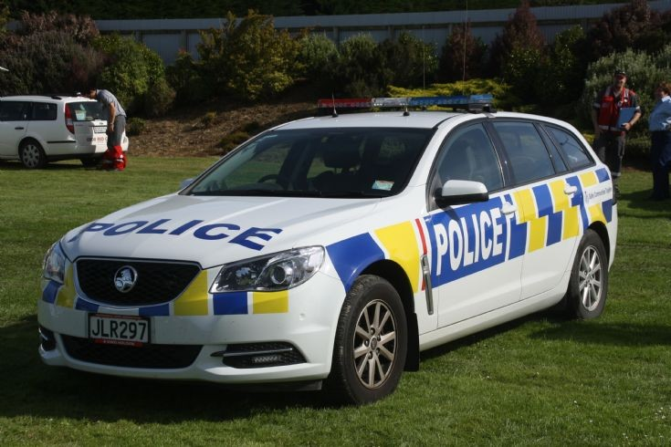 New-Zealand Police Holden