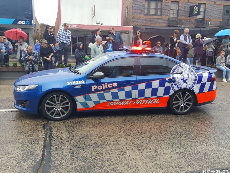 NSW Police Highway Patrol Ford - Australia
