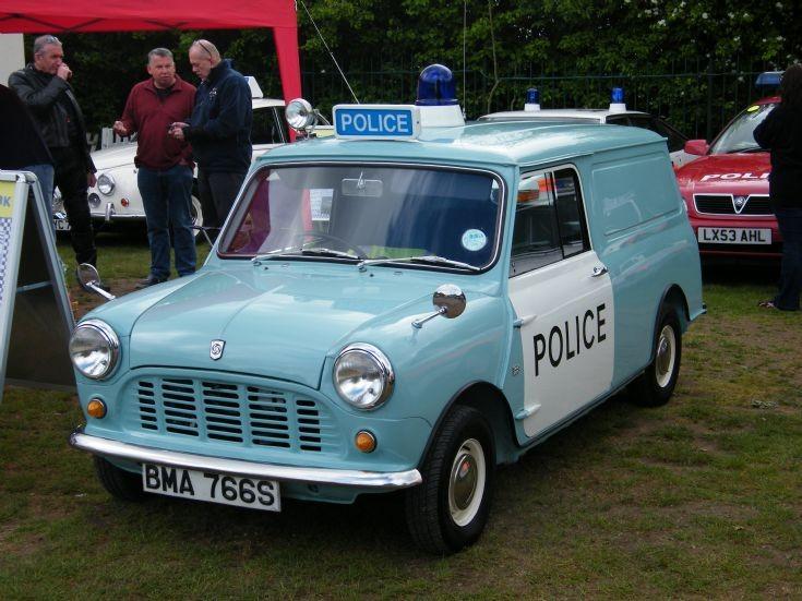 Police Mini Van
