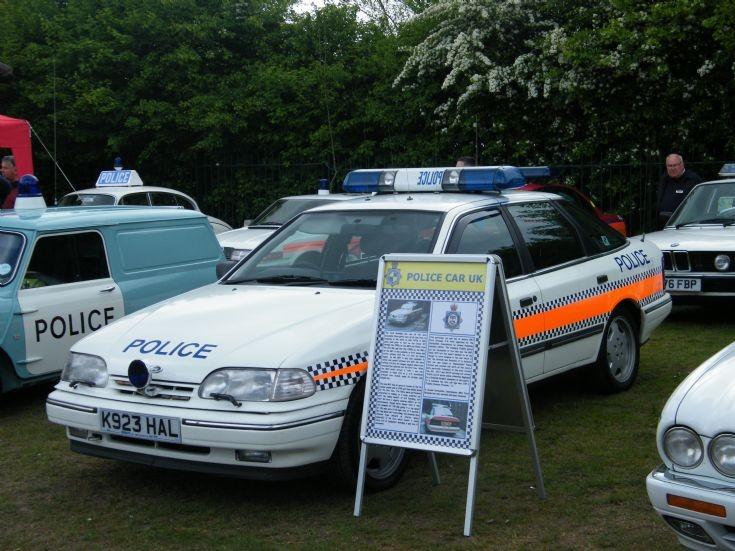 Derbyshire Police Granada