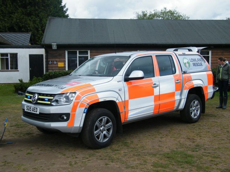 Surrey Search and Rescue Volkswagon