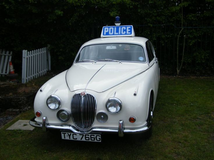 Police Jaguar