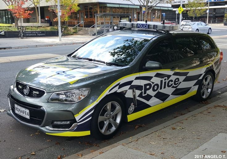 ACT Police Traffic Operations Holden VF2