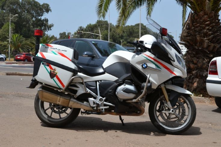 BMW R1200 RT Moroccan Police
