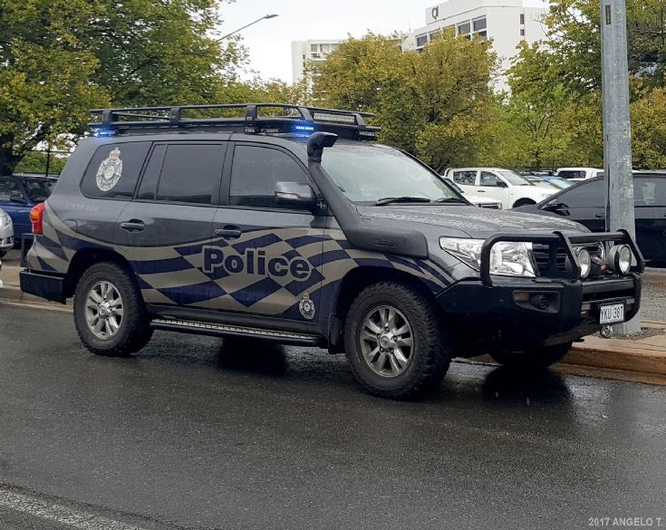 ACT Police SRG Toyota - Canberra, Australia