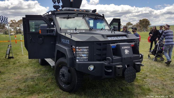 ACT Police Bearcat Lenco - Canberra, Australia