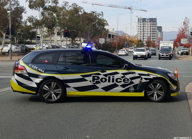 ACT Police Holden VF Wagon - Canberra Australia