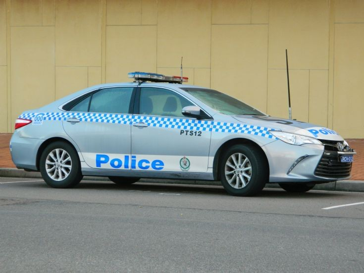 NSW Police Camry