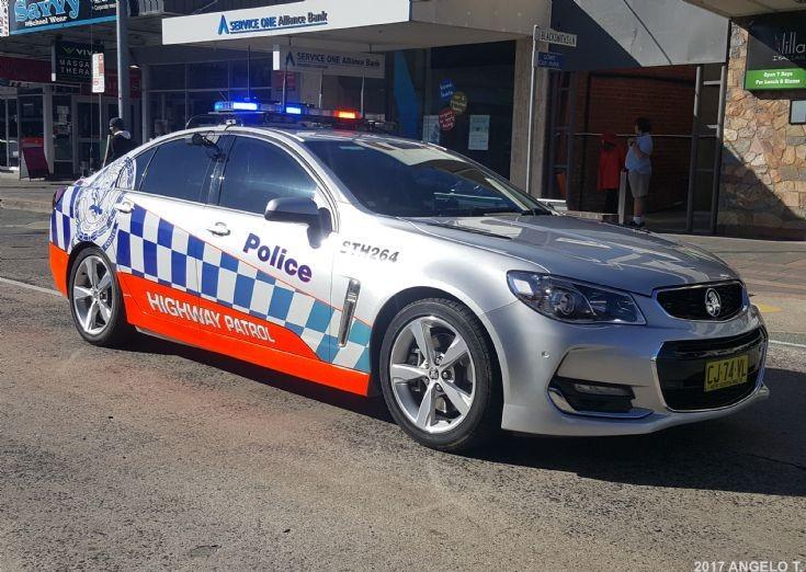 NSW Police Highway Patrol Holden VF II - Australia