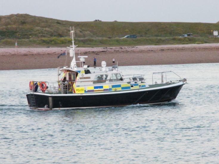MOD Police Boat