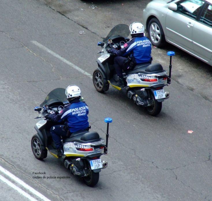 Policía Municipal de Madrid.