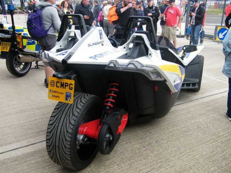 Polaris Slingshot Central Motorway Police Group