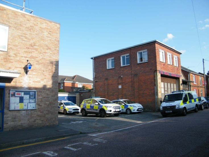 Fords Outside Ryde Police Station IOW