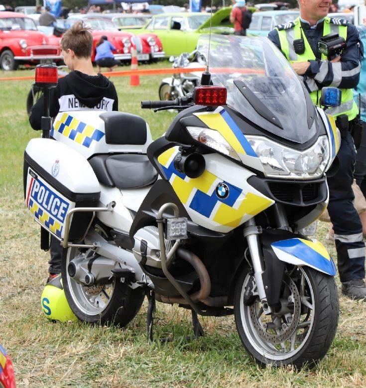 NZ Police BMW Patrol Bike