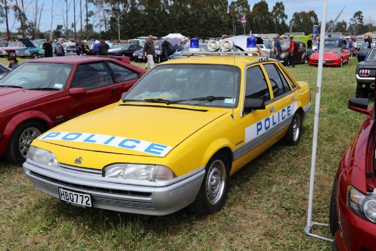 mid 1980s Holden Police Car