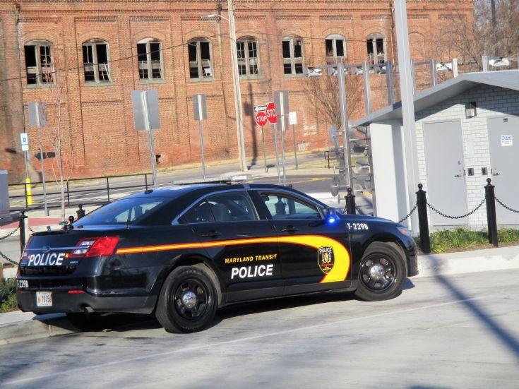 Mitchell Libby 2017 Maryland Transit Police  USA