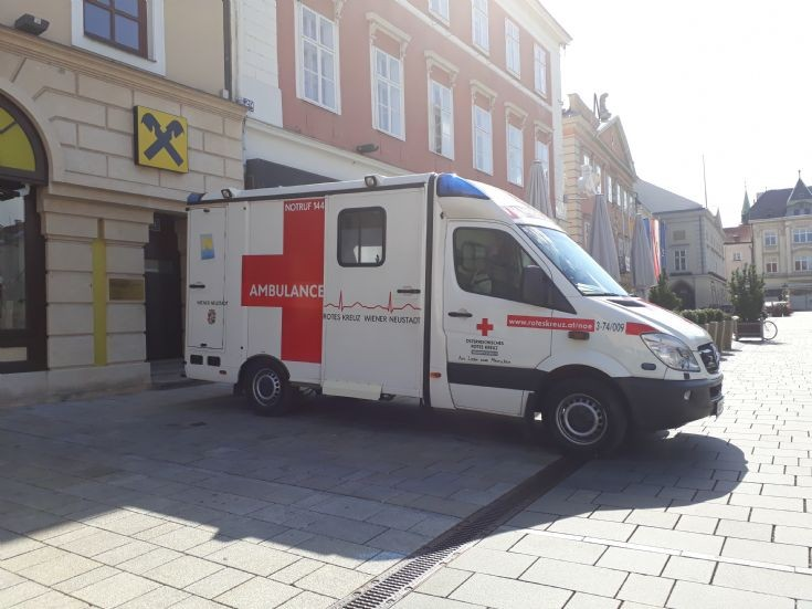 Austrian Red Cross Wiener Neustadt Ambulance