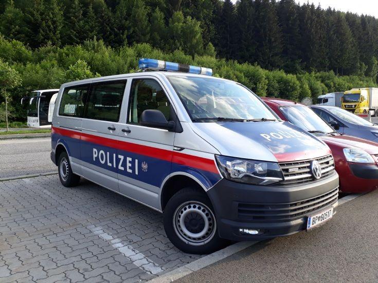 Austrian Police Car
