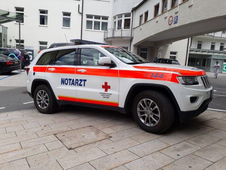 Austrian Red Cross Salzburg Emergency Doctor Car