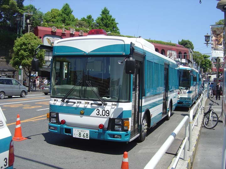 Tokyo Police Riot police Bus