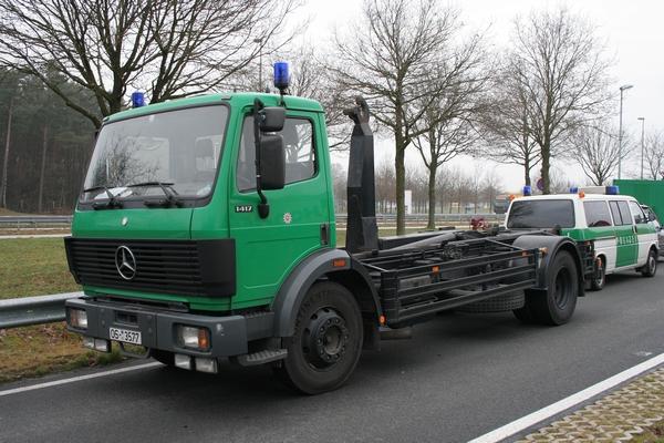 Mercedes 1417 truck Polizei Osnabrück